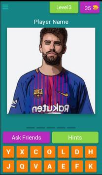 Barcelona Player Quiz screenshot 3