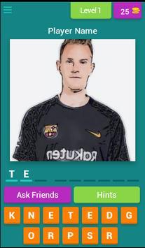 Barcelona Player Quiz poster