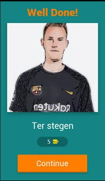 Barcelona Player Quiz screenshot 1