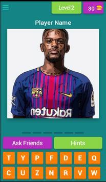 Barcelona Player Quiz screenshot 2