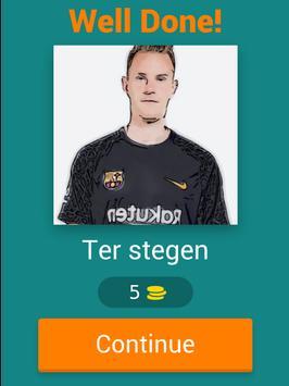 Barcelona Player Quiz screenshot 6