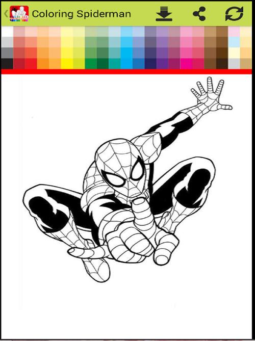 Coloring Spider-man : spiderMan games free for Android - APK Download