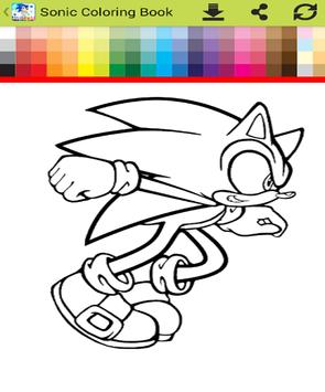 Sonic the hedgehog coloring book APK Download - Free Education APP ...
