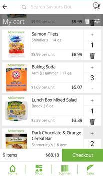 Savours Gourmet screenshot 3