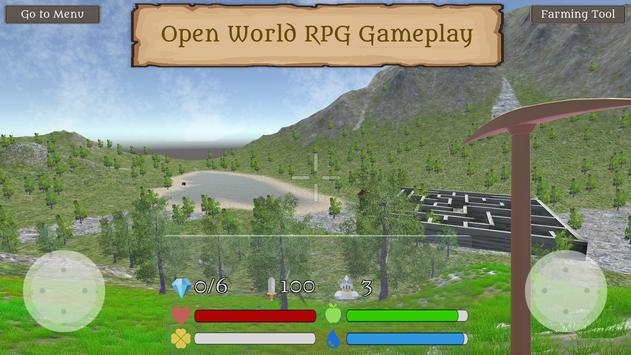 Fantasy Worldcraft: FPS RPG Crafting Mobile Game screenshot 4