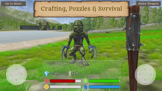 Fantasy Worldcraft: FPS RPG Crafting Mobile Game poster