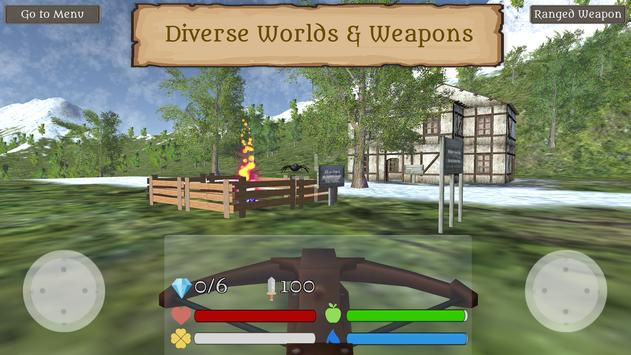 Fantasy Worldcraft: FPS RPG Crafting Mobile Game screenshot 2