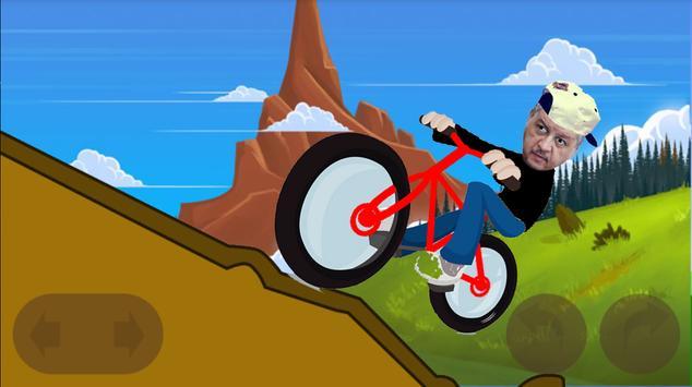 دراجة سلال BMX poster