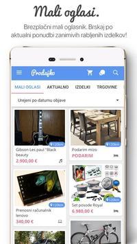 Prodajko - nove in rabljene stvari apk screenshot