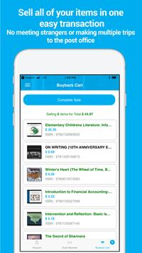 SellBackYourBook - Sell books and Sell Textbooks apk screenshot