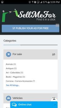 Sellmefor.com screenshot 1