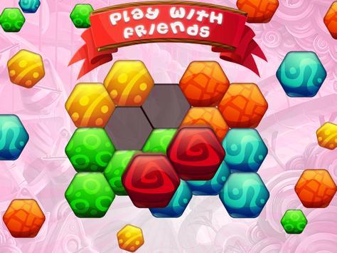 Hexa Blast Candy Blocks apk screenshot