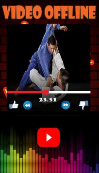Latihan dasar jujitsu dan jurus jalanan poster