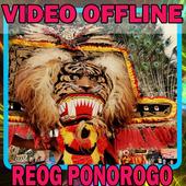 Kesenian Reog ponorogo jawa timur icon