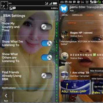 Panduan all B messanger apk screenshot