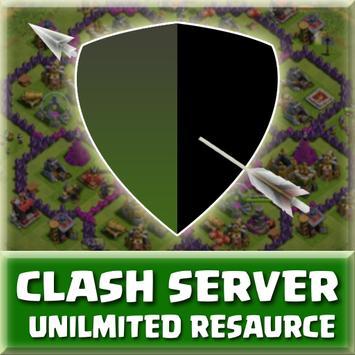 FHX COC Server Clash poster