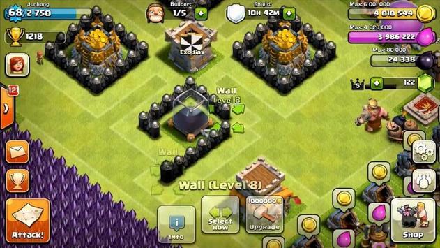 FHX COC Server Clash apk screenshot