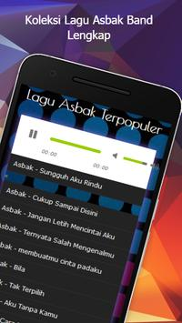 Lagu Asbak Band Mp3 apk screenshot