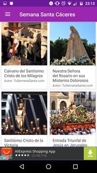Semana Santa Cáceres apk screenshot