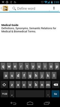 Medical Dictionary & Guide poster