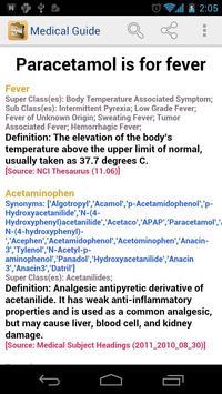 Medical Dictionary & Guide screenshot 1