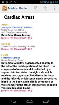 Medical Dictionary & Guide screenshot 2