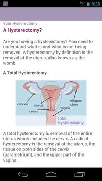 HysterSisters Hysterectomy apk screenshot