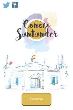 Conoce Santander poster
