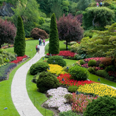 Butchart Gardens Best Jigsaw Puzzle icon