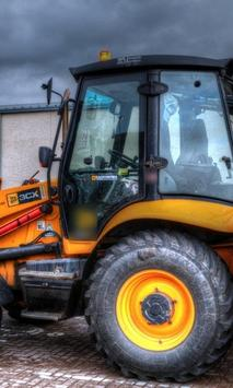 Jigsaw Puzzles JCB Tractors New Best poster