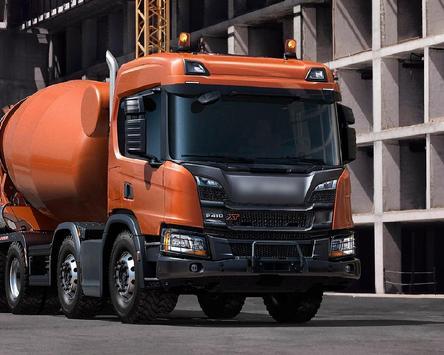 Jigsaw Puzzles Scania P Series Mixer Best Truck apk screenshot