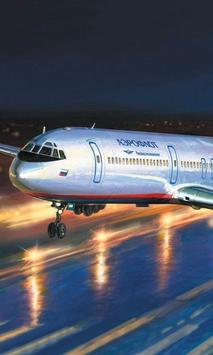Jigsaw Puzzles Yak 42 AirLiner Russian Aircraft poster