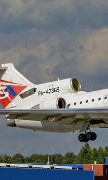 Jigsaw Puzzles Yak 42 AirLiner Russian Aircraft apk screenshot