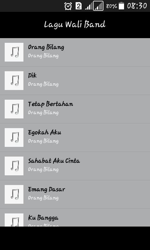 Lagu wali band terpopuler mp3 for android apk download.