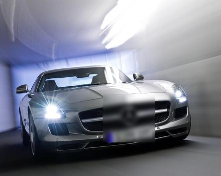 Jigsaw Puzzles HD Mercedes SLS AMG screenshot 3