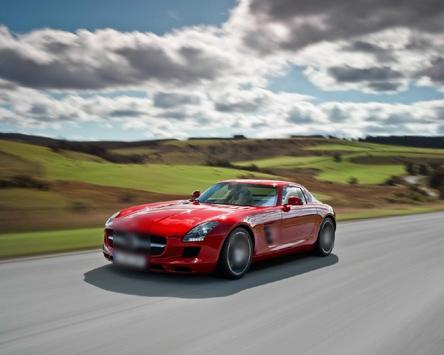 Jigsaw Puzzles HD Mercedes SLS AMG screenshot 4