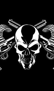 Death Skull Gun Theme poster