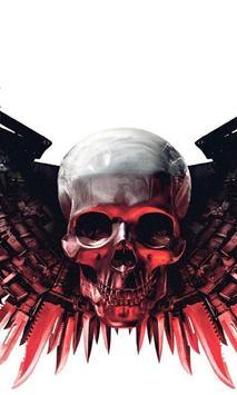 Death Skull Gun Theme screenshot 1