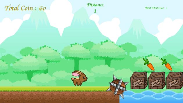 Bunny Carrot Adventure apk screenshot