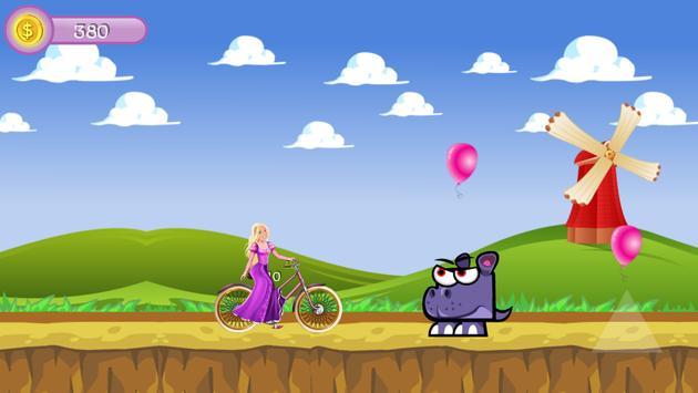Princess Ride Bike screenshot 2