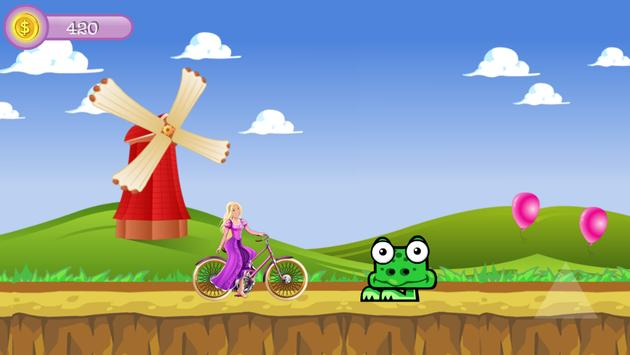Princess Ride Bike screenshot 3