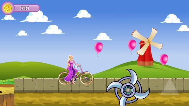 Princess Ride Bike screenshot 8