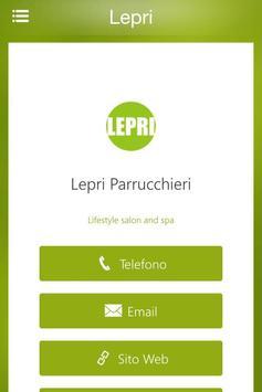LepriHair&Spa app screenshot 1