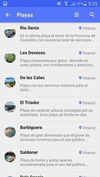 Playas.es apk screenshot