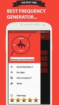 Ultrasonic Sound Generator screenshot 2