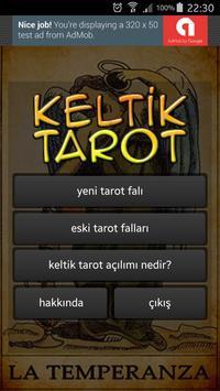 Tarot Falı ücretsiz  türkçe keltik açılımı poster