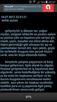 Tarot Falı ücretsiz  türkçe keltik açılımı screenshot 2