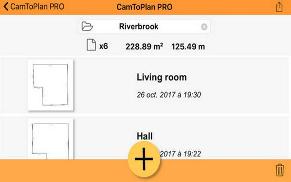 CamToPlan PRO for Android app 2k18 Advice screenshot 1