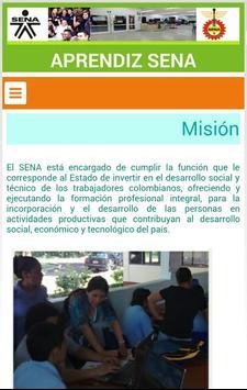 APRENDIZ SENA : INDUCCIÓN screenshot 1