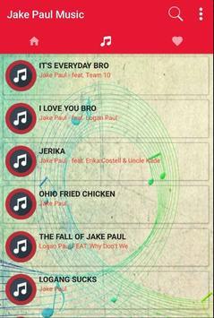 Song for Jake Paul Music + Lyrics poster